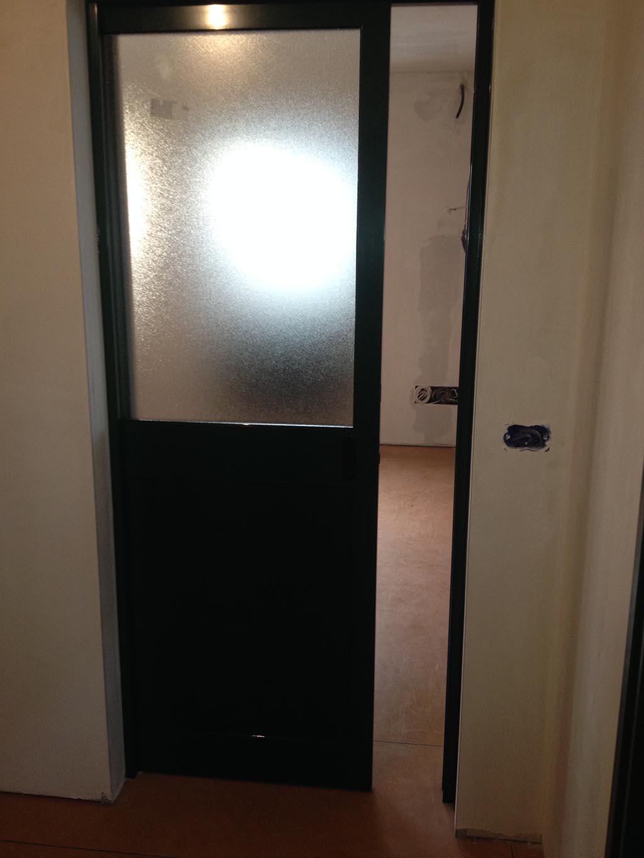 Porte In Alluminio Anodizzato industriale | s m a serramenti & carpenteria di fagotto